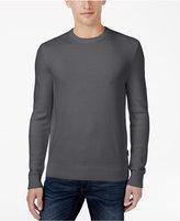 Michael Kors Men's Waffle-Knit Crew-Neck Sweater