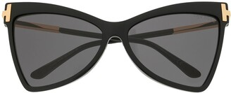 Tom Ford Tallulah butterfly-frame sunglasses