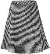 Moncler flared pleated skirt