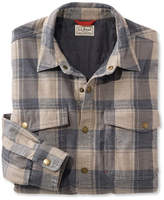 L.L. Bean Insulated Performance Flannel Shirt Long-Sleeve Plaid