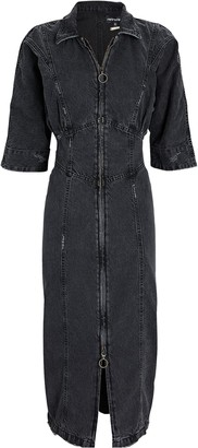 retrofete Nikita Denim Midi Dress