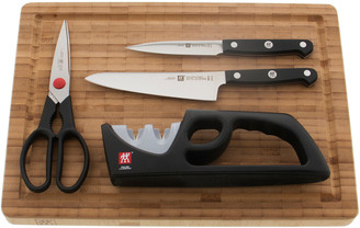 Zwilling J.A. Henckels Gourmet 5Pc Knife & Cutting Board Set