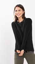 Esprit Textured jumper in soft blended yarn