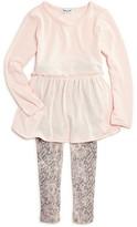 Splendid Girls' Shirt Dress & Snake-Print Leggings Set - Little Kid