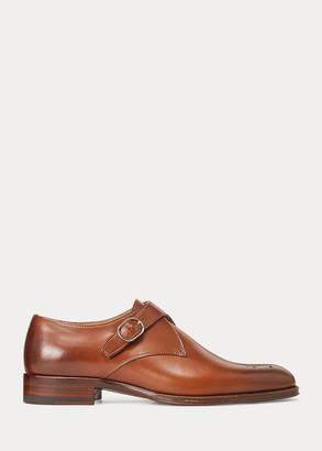 Ralph Lauren Shaye Burnished Calfskin Shoe