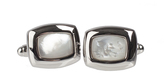 Johnston & Murphy Mother of Pearl Cufflinks
