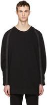 Ann Demeulemeester Black Zip Pullover