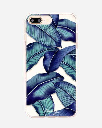 Express Casery Tropical Leaves Matte Iphone Case