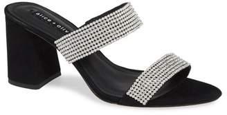 Alice + Olivia Laleah Leather Sandal
