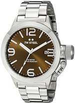 TW Steel Men's CB21 Analog Display Quartz Silver Watch