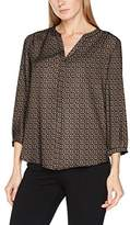 NYDJ Women's Pin Tuck Blouse,14 (Manufacturer Size: M)