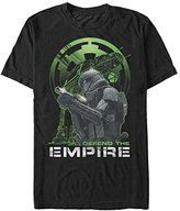 Star Wars Men's Rogue One Defend Graphic T-Shirt