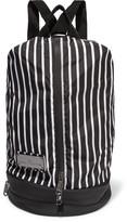 adidas by Stella McCartney Striped shell backpack
