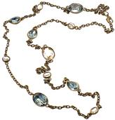Warner's Diana Warner Antique Brass Warner Necklace