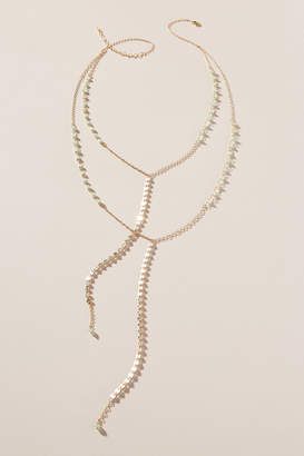 Heather Hawkins Layered Lariat Necklace