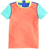 J.Crew Girls' short-sleeve rash guard in colorblock
