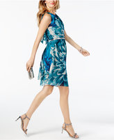 INC International Concepts Belted A-Lined Dress, Created for Macy's