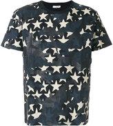 Valentino star camouflage T-shirt - men - Cotton - S