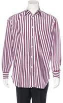 Kiton Striped Dress Shirt