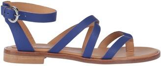 ANNA F. Toe strap sandals