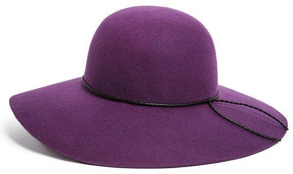 GUESS Wide-Brim Felt Hat