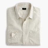 J.Crew Slub cotton shirt in gingham