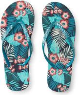 Tropical Floral Flip-Flop
