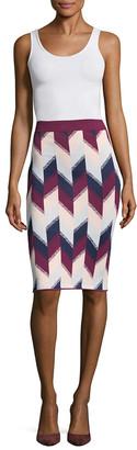 BCBGMAXAZRIA Leger Knit Sweater Skirt