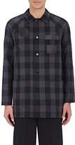 Alexander Wang MEN'S PLAID SHIRT JACKET