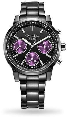 High End Unisex Quartz Watch by Ross RinoTM - Watches for Man & for Women. This Stainless Steel Sport Watch is on Sale at a Lower Price Than Designer Watches but is of Greater Quality! (Purple)