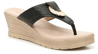 Seven 91 Leanne Wedge Sandal