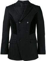 Alexander McQueen double breasted blazer - men - Cotton/Viscose/Virgin Wool - 48