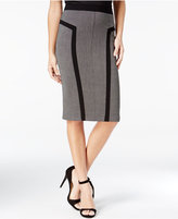 Amy Byer Juniors' Textured Pencil Skirt