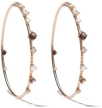 Mattia Cielo 18kt rose gold diamond Rugiada earrings