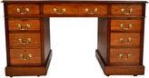 One Kings Lane Vintage 1910s English Pedestal Desk