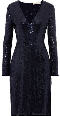 Vanessa Bruno Sequined Chiffon Dress
