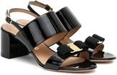 Salvatore Ferragamo Giulia patent leather sandals