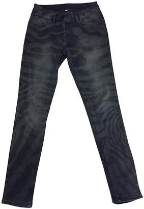 Sandro Grey Cotton Jeans for Women
