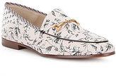 Sam Edelman Loraine Leaf Printed Slip-On Loafers