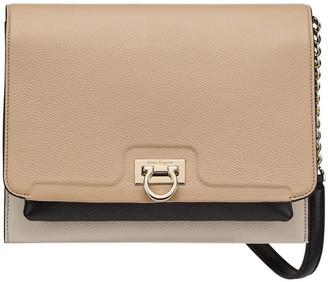 Salvatore Ferragamo Colorblock Leather Crossbody Bag