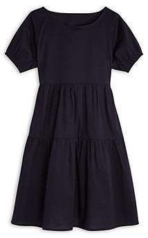 Aqua Girls' Puff Sleeve Poplin Dress, Big Kid - 100% Exclusive