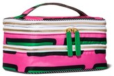 Sonia Kashuk Triple Train Case Cosmetic Bag Stripe