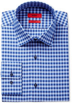 HUGO BOSS HUGO Men's Slim-Fit Blue Check Dress Shirt