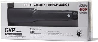 """Generic Value Products 1 1/2"""" Ceramic Straightening Iron Compare to CHI Ceramic Hairstyling Iron"""