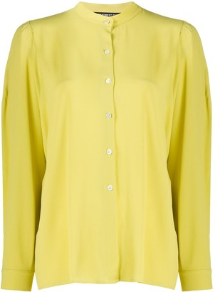 DEPARTMENT 5 Long Sleeve Mandarin Collar Shirt