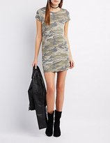 Charlotte Russe Camo T-Shirt Dress