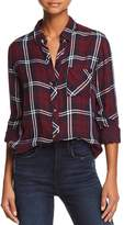 Rails Gemini Metallic Plaid Shirt
