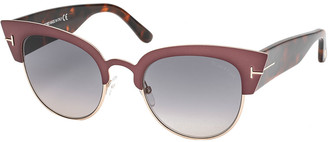 Tom Ford Women's Ft0607 51Mm Sunglasses