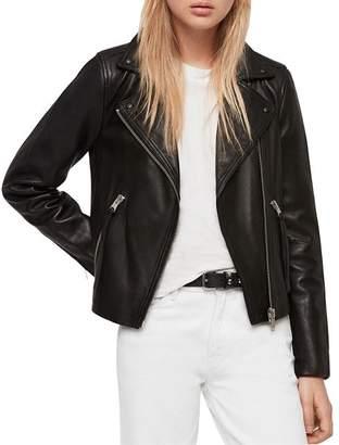AllSaints Dalby Leather Biker Jacket