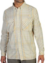 Exofficio Air Strip Macro Plaid Shirt - UPF 30+, Button Front, Long Sleeve (For Men)